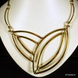 287 Brass Necklace